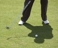 наёмный убийца гольфа шарика к Стоковое Изображение RF