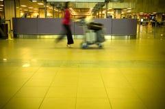 На авиапорте Стоковая Фотография RF