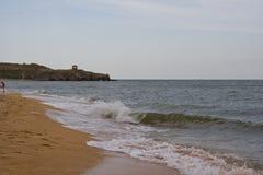 На береге моря Стоковая Фотография
