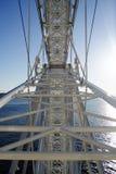 На большом колесе - взгляде залива Стоковые Изображения RF