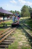 На вагонетке Стоковая Фотография RF