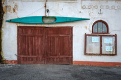 На двери Стоковые Изображения RF