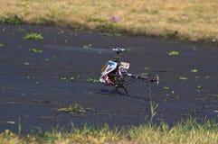 На вертодроме Стоковое фото RF