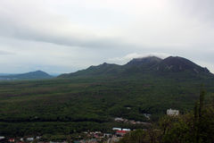 На верхней части холма Zheleznaya, Россия стоковые изображения rf