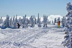 На верхней части Zelenaya горы Стоковое фото RF