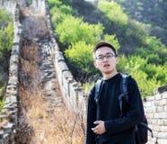 На Великой Китайской Стене Стоковая Фотография