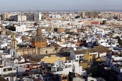 на взгляде seville Испании собора Стоковое Изображение