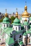 Над взглядом строения собора Sophia Святого Стоковая Фотография RF