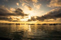над восходом солнца моря стоковое изображение