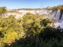 над водопадом радуги Стоковая Фотография RF