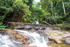 Над водопадом Punyaban Стоковые Фото