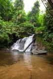 Над водопадом Punyaban Стоковые Изображения RF