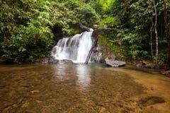 Над водопадом Punyaban Стоковая Фотография