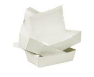 На вынос картонные коробки Стоковые Изображения
