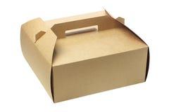 На вынос коробка торта Стоковые Изображения RF