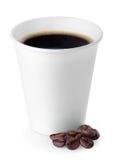 На вынос кофейная чашка Стоковая Фотография RF