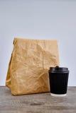 На вынос пищевой контейнер Стоковые Фото