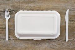 На вынос пищевой контейнер Стоковая Фотография RF