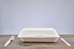 На вынос пищевой контейнер Стоковые Изображения RF