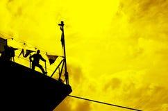 На гавани Стоковые Изображения