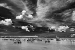 На гавани Стоковое Изображение