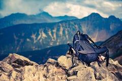 На горной тропе Стоковые Фотографии RF