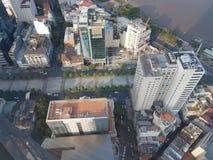 над городом Стоковое Изображение RF