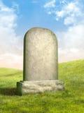 надгробная плита Стоковая Фотография