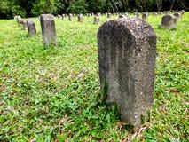 Надгробная плита на праве Стоковые Изображения RF