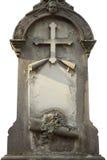 Надгробная плита с космосом для текста Стоковые Изображения RF