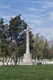 надгробные плиты соотечественника кладбища arlington Стоковая Фотография RF