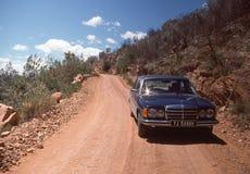 На дороге к заливу Plettenberg, Южная Африка Стоковые Фотографии RF