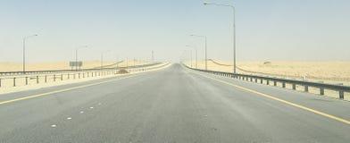 На дороге к никакому где стоковое фото rf