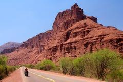 На дороге к Cafayate стоковая фотография rf