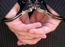 надевано наручники Стоковое фото RF
