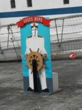 Надежда логотипов приехала в Гану Стоковые Изображения RF