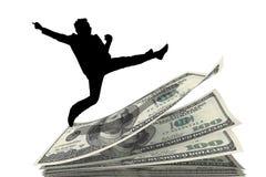 Над деньгами Стоковые Фотографии RF