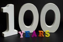 На 100 лет Стоковое Изображение RF