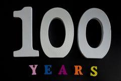 На 100 лет Стоковое фото RF