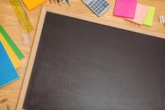 Надземная съемка стола зрачков Стоковое фото RF