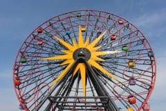 Надземное колесо Ferris Стоковая Фотография