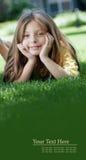 На знамени травы стоковые фото