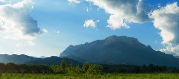 2195 над зоной как doi заречья искажения dao конуса chiang высоко наиболее высоковысоко переворачивали ровную живую природу сельч Стоковые Изображения