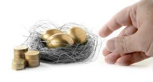 Наличие пенсии Стоковое фото RF