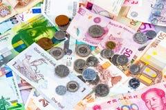 Наличные деньги в мире Стоковая Фотография RF