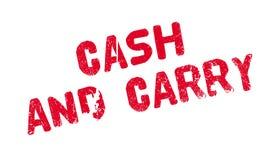 Наличные деньги - и - снесите избитую фразу иллюстрация штока