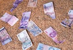 Наличные деньги на неочищенных рисах Стоковые Изображения RF