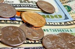 Наличные деньги США доллара Стоковое Изображение RF