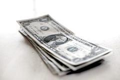 Наличных денег денег счетов доллары Riches богатства Стоковое фото RF