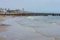 На каникулах в Lido di Jesolo (на пляже) Стоковые Изображения RF